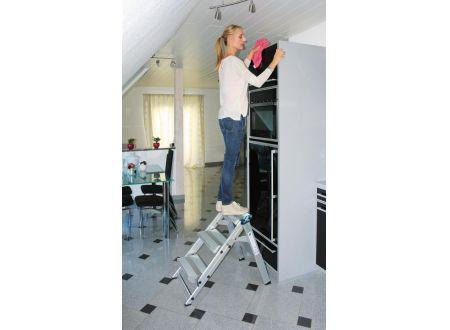keine Angabe Klapp-Treppe alu 3 Stufen klappbar