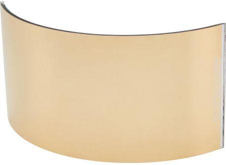 EDE Weitwinkelscheibe Glas Goldbedamft 100x220 mm