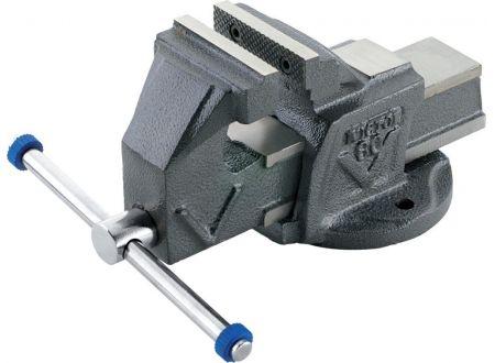 EDE Schraubstock Ganzstahl 125mm TECO