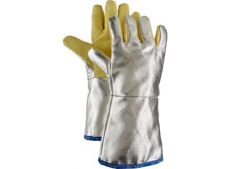 keine Angabe Hitzeschutzhandschuh Aramid,Alu,5-Finger,38cm