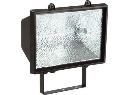 EDE Halogen-Strahler 1500 W mit Lichtm.,schwarz,IP54