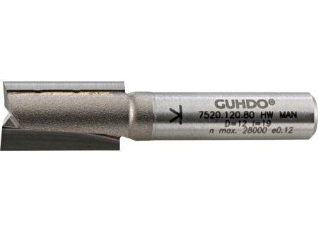 EDE HW-Nutfräser D10 l32 L64 S8 Z2 Guhdo
