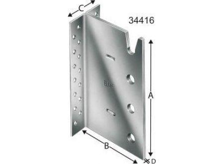 EDE SST Balkenträger 4-reihigBT4-200-B Lieferumfang: 15 Stück