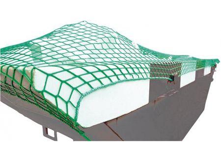 EDE Containernetz 3,5x4,0 m MW 45 grün ohne Gummi