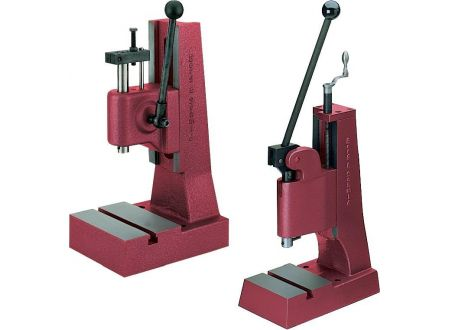 keine Angabe Handhebelpresse mit Kniehebel 1700kp Hub 60mmBerg + Schmid Press