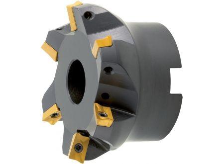 EDE Planfräser 75 Grad m. IK.D 63mm Z 4 f. APKT16