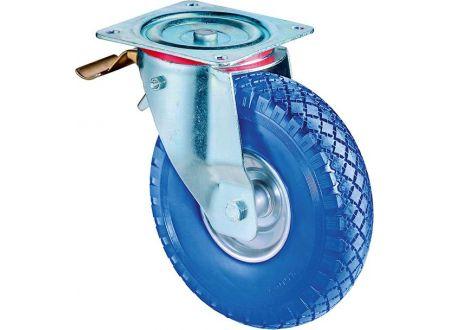 EDE Lenkrolle 260mm L420.C91 Pl.,pannens.blau,RL,Fest L420.C91.262