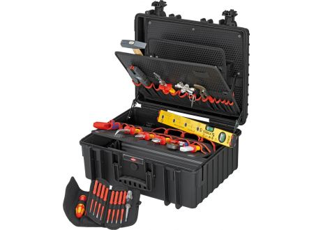 EDE Werkzeugkoffer Robust 34 Elektro 26-teilig KNIPEX
