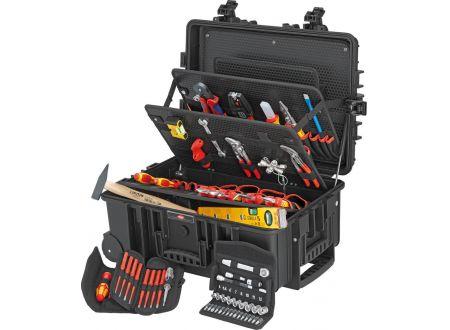 EDE Werkzeugkoffer Robust 45 Elektro 63-teilig KNIPEX