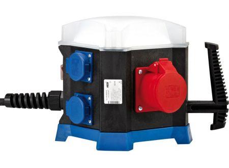 EDE Steckdosenverteiler LED 4xSchuko,1xCEE 5x16A/32A