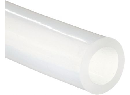 EDE Silikonschlauch transp. FDA, 9x1mm, 25m