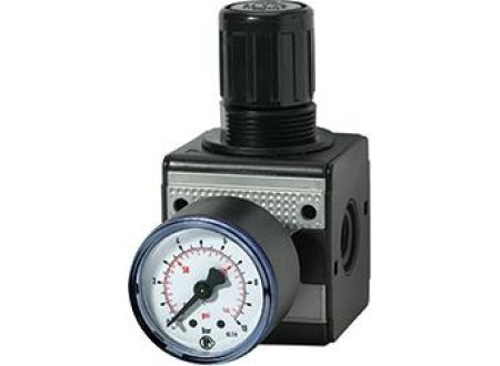 EDE Druckregler multifix mit Manometer BG1 0,5-10bar G1/4 RIEGLER