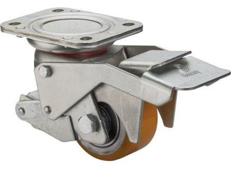 EDE Heberolle 80mm,PU Rad, Kugellager W120.C10.080