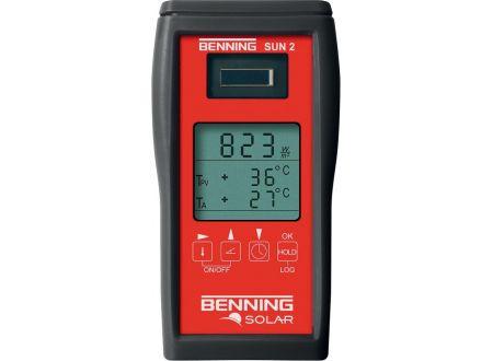 EDE Einstrahlungs-/ Temperatur-Messgerät SUN2BENNING