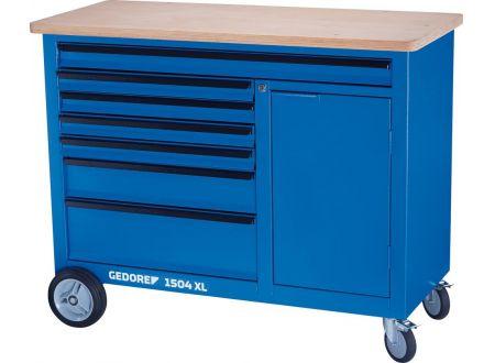 EDE Rollwerkbank XL mit Fach und 6 Schubladen GEDORE