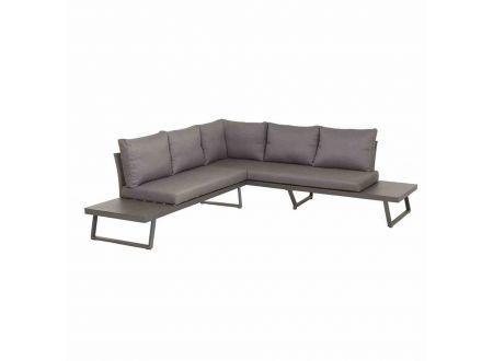 Siena Garden Loungeset Larina inkl. Lifttisch matt graphit bei handwerker-versand.de günstig kaufen