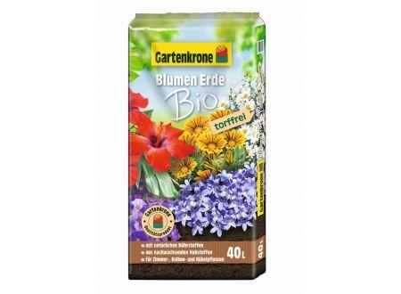 Gartenkrone Bio-Blumenerde, torffrei 40L bei handwerker-versand.de günstig kaufen