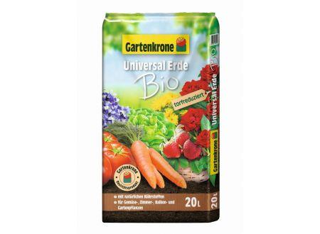 Gartenkrone Bio Universalerde, torfreduziert 20L bei handwerker-versand.de günstig kaufen
