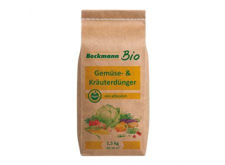Beckmann + Brehm Bio Gemüse- und Kräuterdünger 1,5 kg Papierbeutel bei handwerker-versand.de günstig kaufen