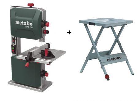 Metabo Bandsäge BAS 261 Precision mit Maschinenständer UMS bei handwerker-versand.de günstig kaufen
