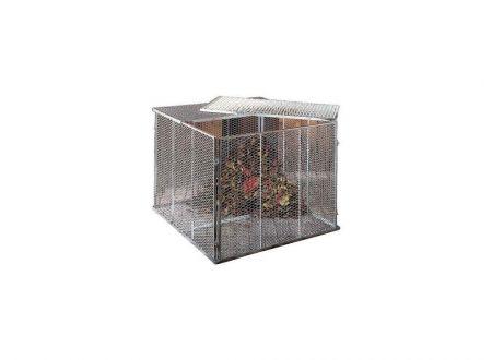 Brinkmann Komposter Streckmetall 100 x 100 Set inkl. Deckel und Boden