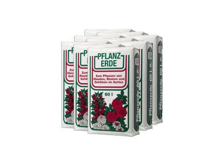 Plantaflor Palette Uni-Blumenerde 60 l (35 Sack)