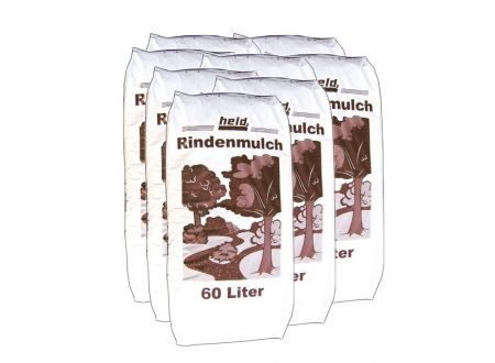 Held Palette Rindenmulch 60L (40 Sack)