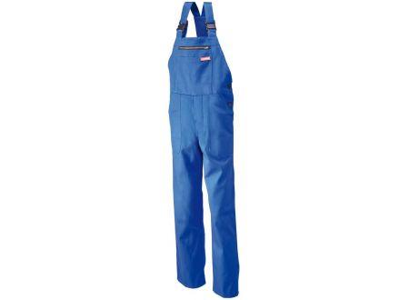 EDE Latzhose 100% Baumwolle 290 g/m² Farbe:kornblau Größe:56