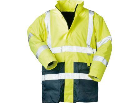 EDE Warnschutzparka gelb-blau M/50-52 bei handwerker-versand.de günstig kaufen