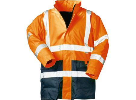 EDE Warnschutzparka orange-blau L/54-56 bei handwerker-versand.de günstig kaufen