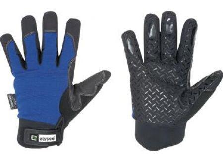 Winterhandschuh Freezer schwarz/blau Größe:10