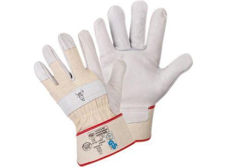Handschuh Stierkopf Rindvollleder Größe:9