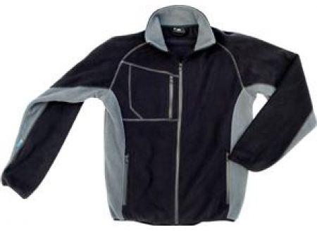 Champ Fleecejacke L schwarz/grau bei handwerker-versand.de günstig kaufen