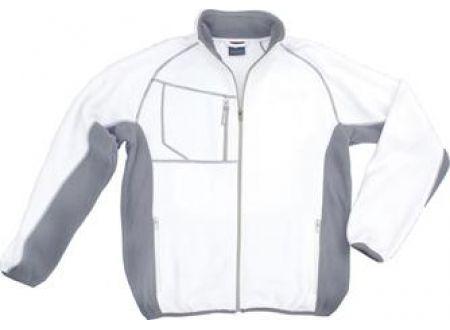 Champ Fleecejacke XXL weiß/grau bei handwerker-versand.de günstig kaufen