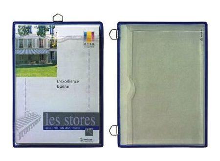 EDE Prospekttasche mit 1 Öse A4 blau 5 Stück bei handwerker-versand.de günstig kaufen