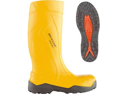 Dunlop Sicherheitsstiefel Puro fort+ S5 CI Größe:44 Farbe:gelb