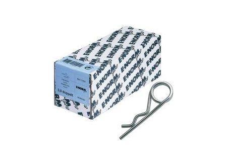 Federstecker DIN 11024 doppelt E-NORMpro Nennmaß:4mm