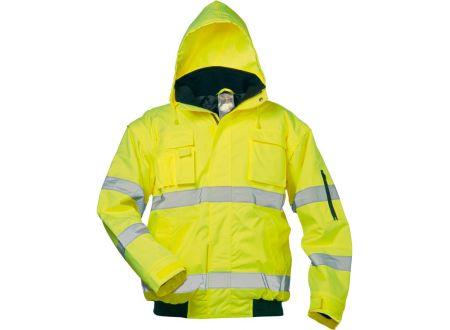 E/D/E Logistik-Center Warnschutzpilotenjacke Roland gelb bei handwerker-versand.de günstig kaufen
