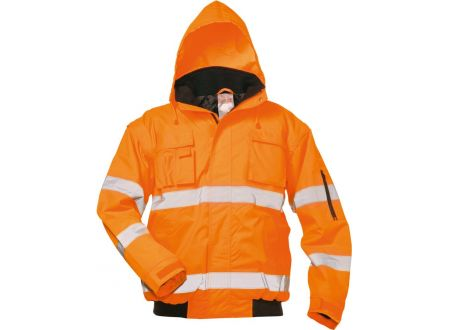E/D/E Logistik-Center Warnschutzpilotenjacke Tom orange bei handwerker-versand.de günstig kaufen
