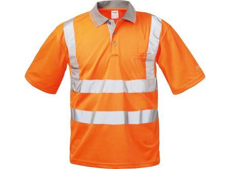 E/D/E Logistik-Center Warnschutzpoloshirt Uwe orange bei handwerker-versand.de günstig kaufen