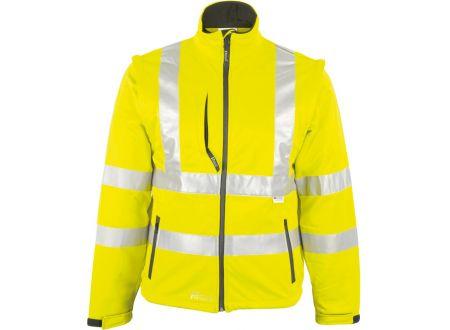 E/D/E Logistik-Center Warnschutzjacke Softshell bei handwerker-versand.de günstig kaufen