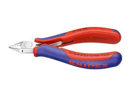 KNIPEX Elektronik-Seitenschneider 115 mm runder Kopf