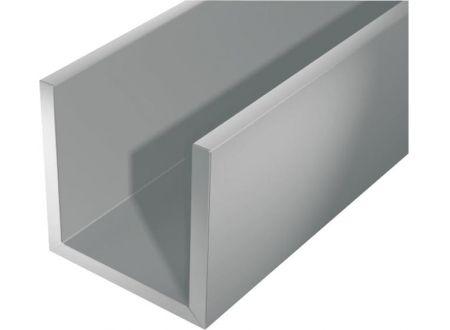 Gah U-Profil silberfarbig Aluminium bei handwerker-versand.de günstig kaufen