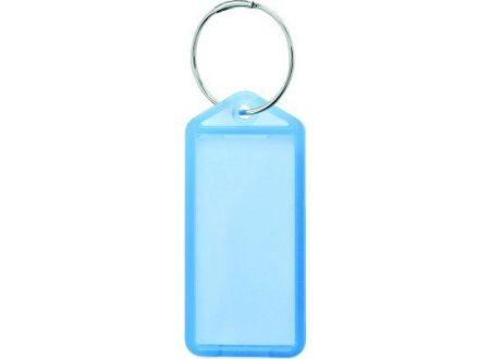 Lothar Reiher Schlüsselanhänger aufklappbar Farbe:blau Lieferumfang: 100 Stück