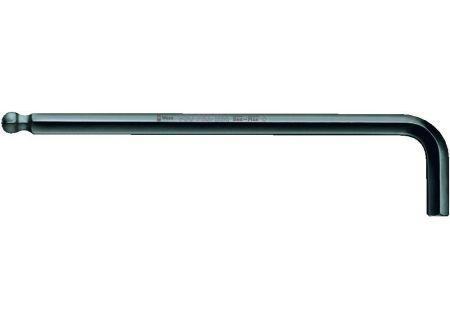 2 lang Edelstahl WERA Hex-Plus Sechskant-Winkelschraubendreher mit Kugelkopf
