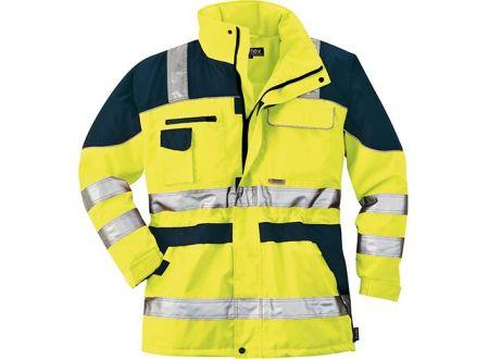 Warnschutzparka L gelb/blau bei handwerker-versand.de günstig kaufen