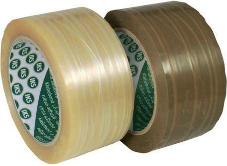 PVC-Packband fadenverstärkt 66m x 50mm Farbe:braun