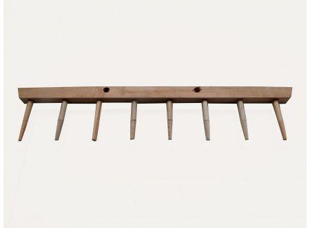 Rechenbalken für Holzrechen einreihig Anzahl Zinken:8