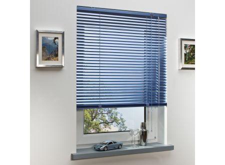 Liedeco Jalousie aus Alu Aluminium-Jalousie Farbe:sky Länge:160 cm Breite:140 cm