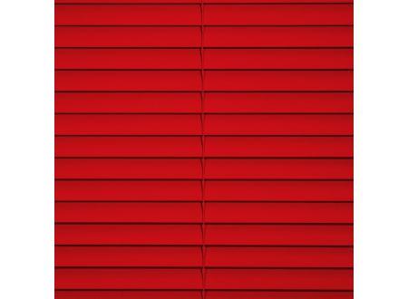 Liedeco Jalousie aus Alu Aluminium-Jalousie Farbe:rot Länge:160 cm Breite:160 cm